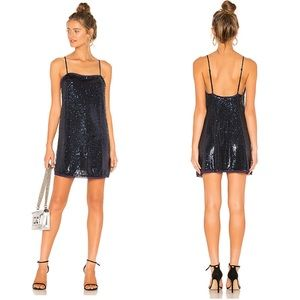 NWT Free People Time to Shine Slip Dress Sequin